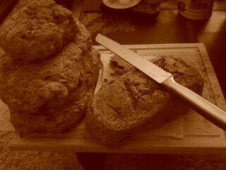 Compartiendo el pan